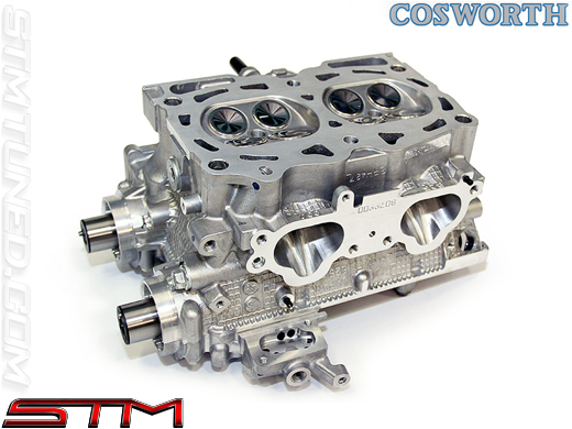 Cylinder Head Design : Stm cosworth cylinder heads with s cams ej subaru